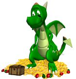 treasure dragon